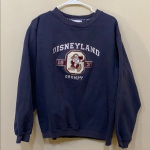 Disneyland Grumpy  Embrodiered Patch 1937